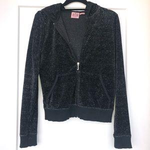 Juicy Couture Black Jumpsuit Jacket
